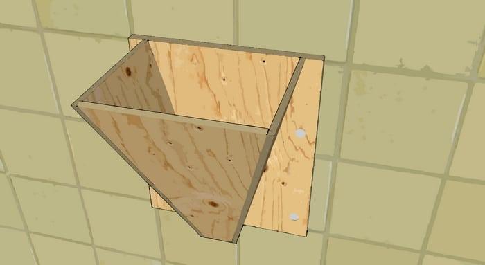 Saignoir en bois issu de l'autoconstruction